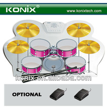silicone usb midi roll up drum kit for drumer