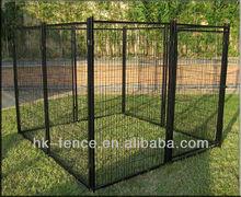 Black Powder coated dog run
