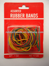 70% standard rubber band in box