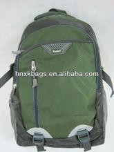 Popular adult school backpack bag with front zipper pocket