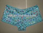 Underwear Women Boxer Colorful Panty Hot Kiss Girl's Teen Panties Ladies Hipster Brief Satin String Bikini Panty Hot Sexy Photo.