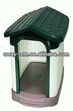 Big size collapsible plastic pet house for dogs