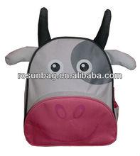 Kid's best love tender cow school bags for gifts 2012