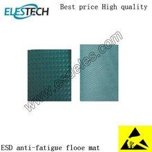 cheap high quality Green antistatic anti slip esd rubber floor mat