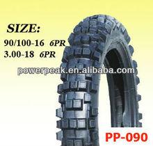 dirt bike tyre 90/100-16 110/90-18 80/100-21