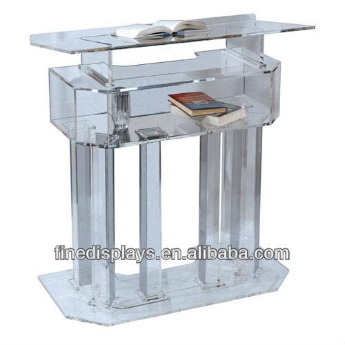 Acrylic Podiums Acrylic Lecterns Acrylic Pulpits (AL-A-0166)