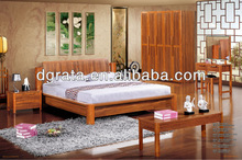 2012 New design modern bedroom furniture sets in solid wood and MDF board for the house furniture