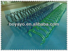 Different color option !!! 2012 spiral coil BoYa-1010 wholesale pretty double loop wire accept free sample