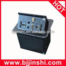 with Video,Audio,VGA,HDMI,RJ45 desk multimendia socket