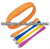 Colorful Rubber Bracelet USB Flash Drive