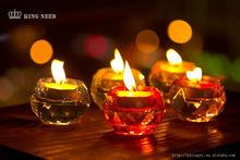 transparent acrylic candle holder