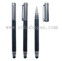 New Elegant Office Black Metal Twist Stylus Ball Pen/Promotion&Fashion Pen