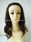 virgin brazilian hair half wig