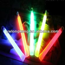 fashion 6 inches brightness luminous fluorescent light glow stick with hook