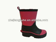 Children rubber rain boots 2012