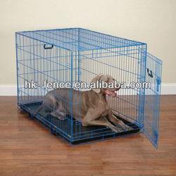 "Hot sale Double Door Medium 36"" Folding Dog Crate Cage"