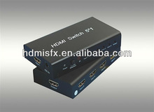 high definition Video/Audio 5x 1 HDMI switcher/switch router 1080p+Remote ,manufacturer