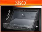 "Milion D2229 7"" HD 2 Din Car DVD Player - Motorized Slide Down Control Panel,AM/FM,USB/SD"