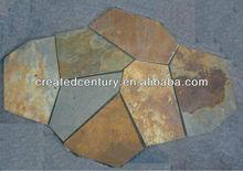 Rusty random mesh flagstone slate pattern