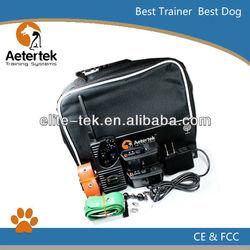 Aetertek waterproof dog shock collars,remote dog trainer for 2 dog , 550M range