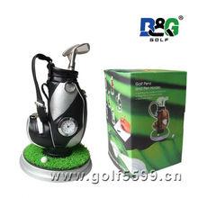 Fashion golf Pen Holders Novelty Gift Golf Bag golf brush pot pen container tubular penrack pencil jars
