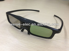 Hottttt!!!3D konka chargeable active shutter glasses IR receiving universal active shutter 3d tv glasses cinema glasses