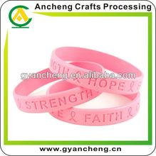 2012 Trendy Eco-friendly Silicone Rubber Bracelet