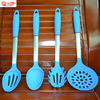 Versatile Innovating Silicone Kitchen Gadgets Kit,Set of 4,Blue