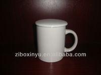 11OZ Ceramic Bulk Tea Cups With Lid For Promotion