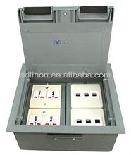 power sockets floor box