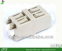 LC multimode duplex fiber optic adapter