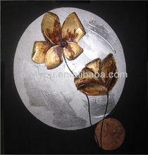carton fair flower canvas painting art (24554)