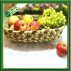 oval woven water hyacinth fruit basket decoration wholesale