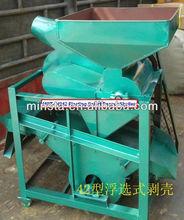 small capacity 400kg 600kg 800kg capacity barrier typ peanut husk removing machine/floating select peanut sheller