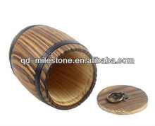Paulownia small packing barrel 2012 hot sale for packing barrels
