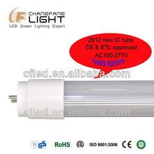 2012 new ic solution ETL CE led red tube