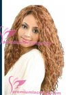 pretty natural curly amercan girl wig