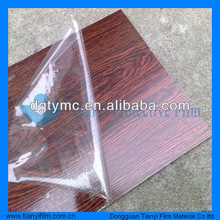2012 Hot Sale PE removable self adhesive protective film for furniture