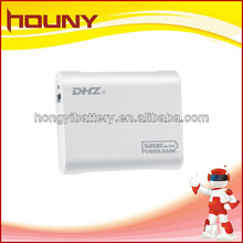 2012 new fashional mobile power bank for smartphone external battery