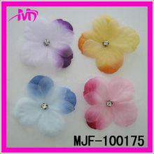 wholesale rhinestone centers fabric orchid flower