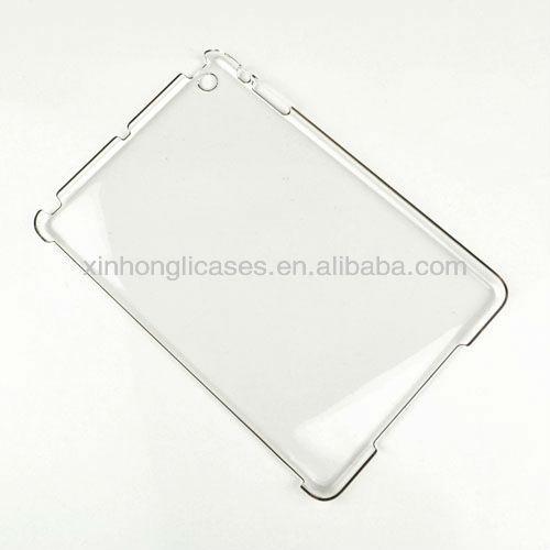 Para ipad mini caso claro, para ipad mini caso de base, para ipad mini simples caso