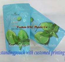 Condiment/Medicine/Milk/Protein Powder Pouch With Zipper