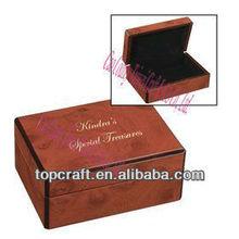 2013 hot selling Wood keepsake boxes for earrings necklaces bracelets photos