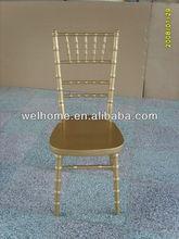 golden chiavari chair
