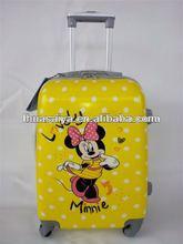 2012 hot selling carton kids school cabin PC travel luggage bag set