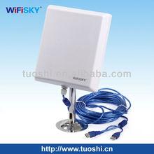 outdoor Ralink 3070 usb adapter 36 dBi outdoor directional antenna wifi usb adapter metal stand,