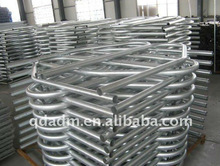 cattle cow galvanized free stall