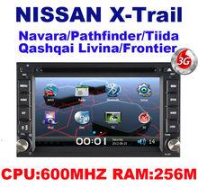 Car DVD for Nissan X-Trail paladin Navara Pathfinder Tiida Qashqai Livina sunny PATROL NV200 VERSA 350Z With GPS + 3G HOST
