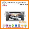 Car DVD Player for Toyota Verso/ Manufacture GPS Car DVD System AV Multimedia Navigation Special Use for Toyota Verso.