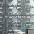 Venda quente pintura da parede combinações de cores com design em relevo